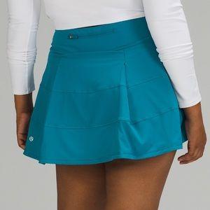 Lululemon Pace Rival Skirt Hawaiian Blue 4 Tall